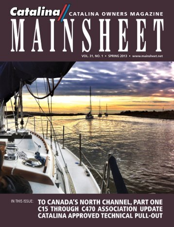 Catalina 350 International Association - Mainsheet Magazine