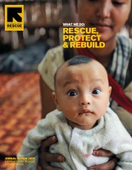 IRC-UK Annual Review 2009 - International Rescue Committee UK
