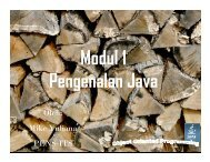 Modul 1 – Java