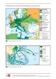 Verlauf des Zweiten Weltkrieges in Europa und Asien