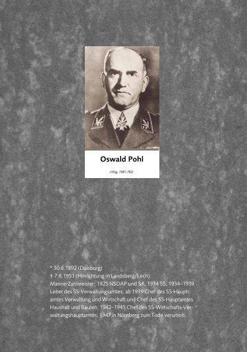 Oswald Pohl - Concebo