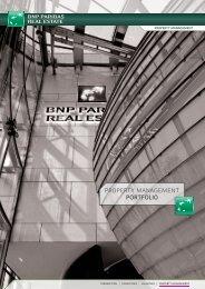 PROPERTY MANAGEMENT PORTFOLIO - BNP Paribas Real Estate