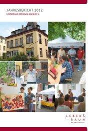 Jahresbericht 2012 - Lebensraum Rheingau-Taunus eV