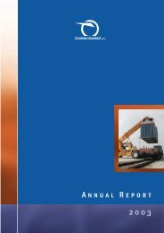 Annual Report 2003 - ZSSK Cargo