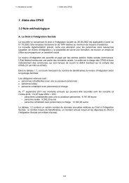 1. Aides des CPAS