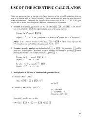 UseSciCalculator Tutorial