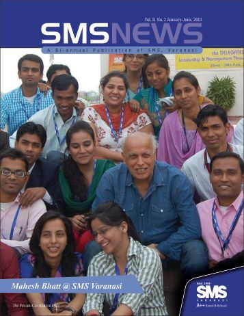 Vol.11 No. 2, Jan-June, 2013 - School of Management Sciences ...