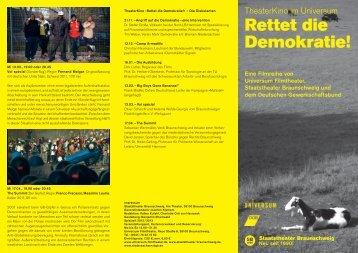 Rettet die Demokratie! - Universum Filmtheater