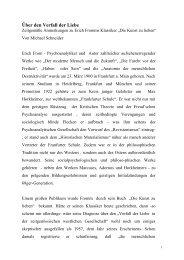 Die Kunst des Liebens - E - Michael Schneider
