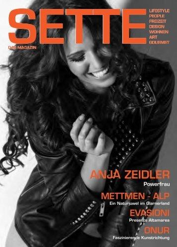 ANJA Zeidler - settemagazin.ch