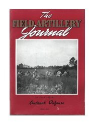 THE FIELD ARTILLERY JOURNAL - MAY 1941 - Fort Sill - U.S. Army