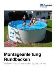 Bedienungsanleitung - Fresh Pool