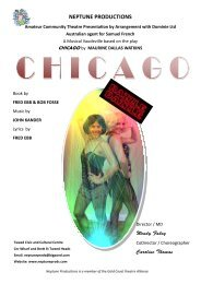 Chicago Program2.pub - Neptune Productions