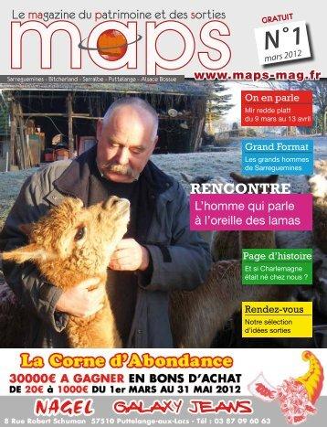 maps_numero1_mars_20.. - MAPS magazine mensuel gratuit du ...