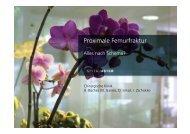 Proximale Femurfraktur - Spital Uster