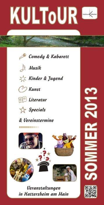 Musik - KulturForum Hattersheim eV