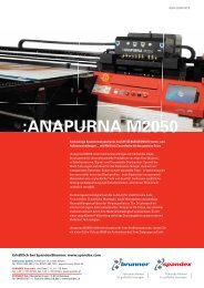 Brochure Agfa :Anapurna M2050 (PDF) - Spandex