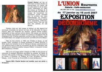 documentation - Union , Bournens