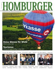 Homburger 01 2011 - Medienverlag Rheinberg | Oberberg