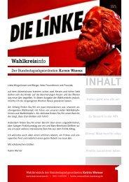 Wahlkreisinfo - DIE LINKE. Katrin Werner
