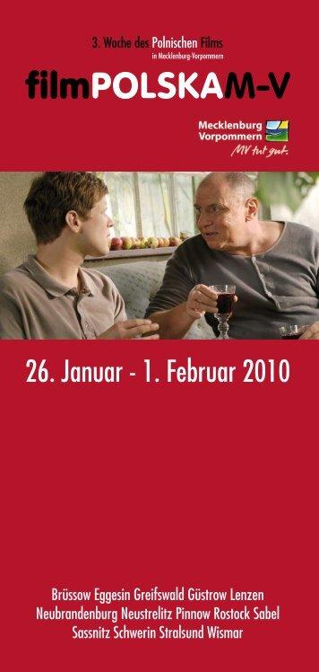 "Das Programm der ""film polska M-V"""