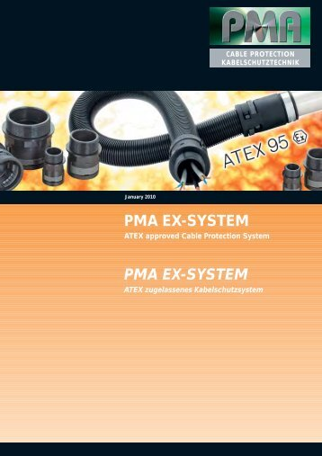 PMA Cable Protection Ex System