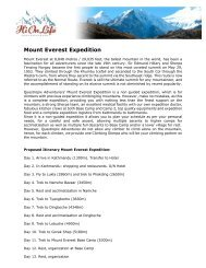 Mount Everest Expedition - Hionlife.se