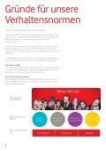 Die Vodafone- Verhaltensnormen - Seite 6