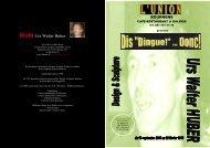 Hubi- Urs Walter Huber - Union , Bournens