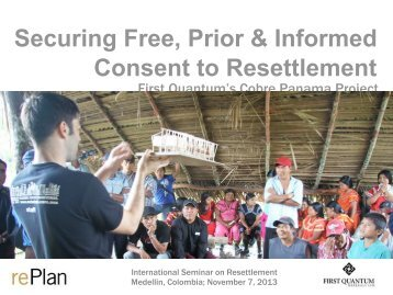 Securing Free, Prior & Informed Consent to Resettlement - Antioquia ...