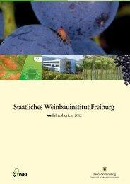 Jahresbericht 2012 - WBI Freiburg