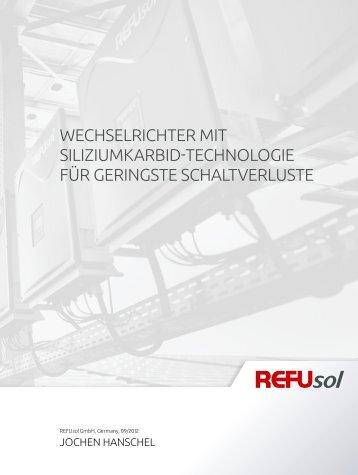 Whitepaper Siliziumkarbid-Technologie - Refusol