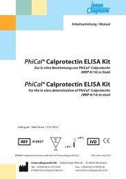 PhiCal®Calprotectin ELISA Kit PhiCal®Calprotectin ELISA Kit