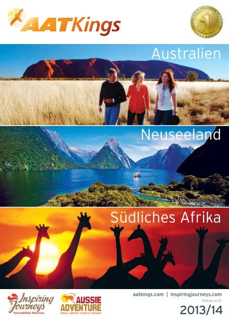 Australien Neuseeland Südliches Afrika - Travelhouse