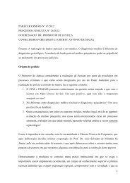 PARECER CRM/MS N° 37/2012 PROCESSO CONSULTA N° 26 ...