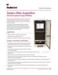 RMSmq Surface Data Acquisition Electronic Quartz Gauge