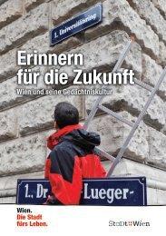 Erinnern für die Zukunft - Jewish Welcome Service Vienna