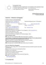 Auftragsbekanntmachung - Die Vergabeplattform des Landes Berlin