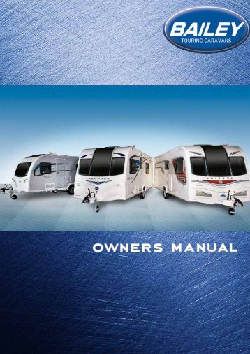 Owners Manual - Bailey Caravans