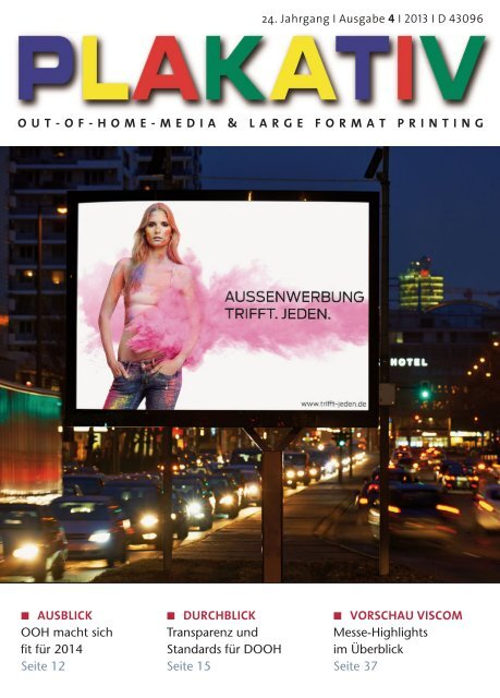 OUT-OF-HOME-MEDIA & LARGE FORMAT ... - bei APG SGA