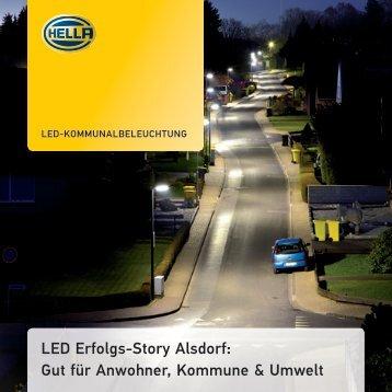 LED Erfolgs-Story Alsdorf: Gut für Anwohner, Kommune & Umwelt