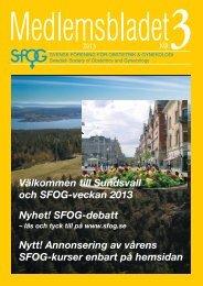 3 2013 - SFOG