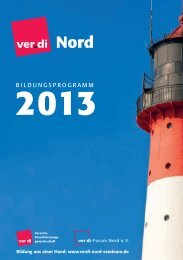 Mitbestimmung - ver.di-Forum Nord