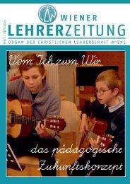 M ä rz / A p ril 20 13 - Christliche Lehrerschaft Wiens