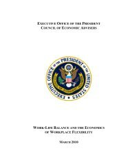 Work-Life Balance and the Economics of ... - The White House