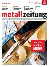 Februar 2013 - IG Metall Jugend Hamm-Lippstadt