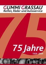 gummi grassau 1929 - 2004 - Karnatz GmbH Werbeagentur