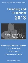 Download Programm-Folder Praktikerkonferenz Wasserkraft 2013