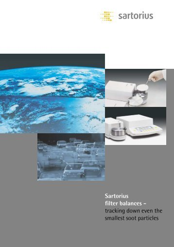 Filter weighing brochure - Scaleman