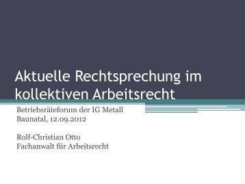 Arbeitsrecht - IG Metall Nordhessen